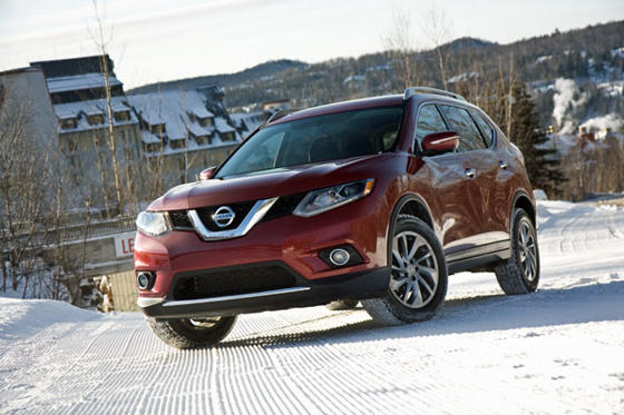 Slide 1 of 25: 2014 Nissan Rogue SL AWD
