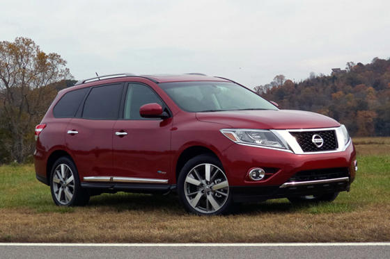 Slide 1 of 20: 2014 Nissan Pathfinder Hybrid