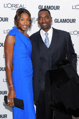 Slide 1 of 158: WNBA champion Lisa Leslie and Michael Lockwood attend the Glamour Magazine 2010 Women of the Year Gala at Carnegie Hall on November 8, 2010 in New York City.