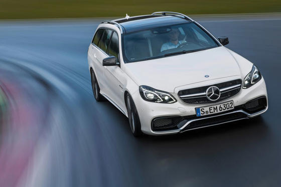 Slide 1 of 19: 2014 Mercedes-Benz E63 AMG S-Model 4Matic Wagon