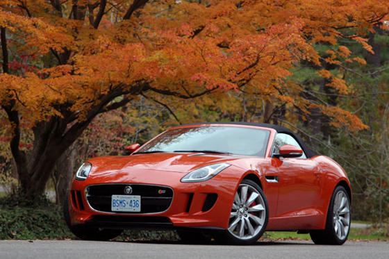 Slide 1 of 15: 2014 Jaguar F-Type V6 S