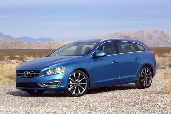 Slide 1 of 22: 2015 Volvo V60 Sportwagon T5 FWD