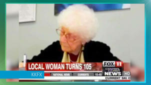 105-year-old passes driver's test 'with flying colors'