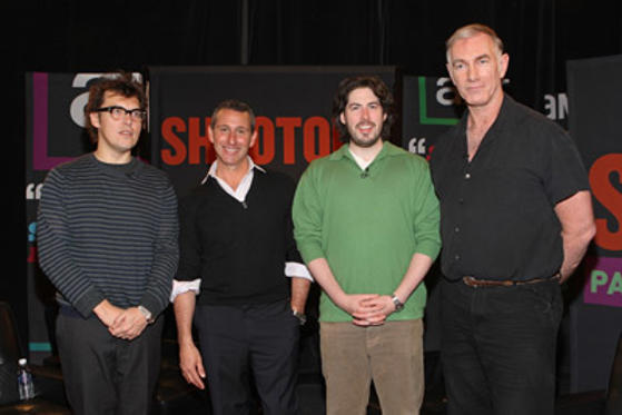 "Slide 1 of 15: Directors Joe Wright, Adam Shankman, Jason Reitman, and John Sayles attend ""Shootout Palm Springs Film Festival"" on January 6, 2008 in Palm Springs, California."