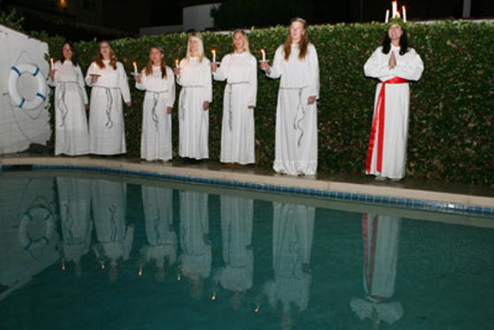 Slide 1 of 11: General Atmosphere at The Lucia Party held at a private residence on November 30, 2007 in Beverly Hills, California.