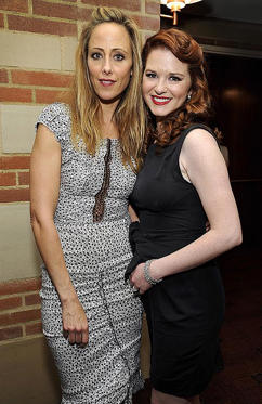 Slide 1 of 2: LOS ANGELES, CA - MARCH 18: Actors Kim Raver and Sarah Drew attend Grey's Anatomy: The Songs Beneath The Show after party hosted by Remy Martin VSOP on March 18, 2012 in Los Angeles, California. (Photo by John Sciulli/WireImage)