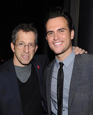Slide 1 of 4: NEW YORK, NY - MARCH 29: Designer Kenneth Cole (L) and actor Cheyenne Jackson attend the 3rd annual amfAR New York Inspiration Gala kick-off party at The Standard East Village on March 29, 2012 in New York City. (Photo by Dimitrios Kambouris/WireImage)