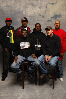 Slide 1 of 5: Shaka, Kumasi, Apollo, Scrap, Director Stacy Peralta and Skipp at the Sky360 by Delta Lounge WireImage Portrait Studio on January 21, 2008 in Park City, Utah.