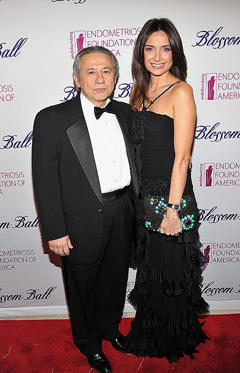 Slide 1 of 32: NEW YORK, NY - MARCH 15: Dr. Tamer Seckin and Aslihan Koruyan Sabanci attend the Endometriosis Foundation of America's 4th annual Blossom Ball at The New York Public Library - Stephen A. Schwarzman Building on March 15, 2012 in New York City. (Photo by Theo Wargo/WireImage)