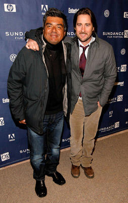 "Slide 1 of 9: Actors George Lopez and Luke Wilson attend the premiere of ""Henry Poole Is Here"" at the Eccles Theatre during the 2008 Sundance Film Festival on January 21, 2008 in Park City, Utah."