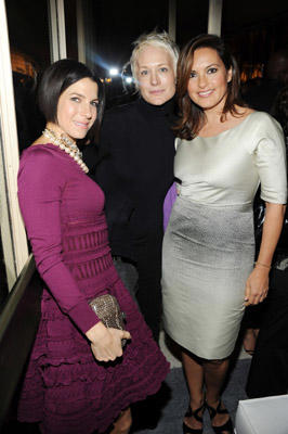 "Slide 1 of 63: (L-R) Jessica Seinfeld, Nancy Jarecki, and <a href=/celebrities/celebrity/mariska-hargitay/ type=""Msn.Entertain.Server.WebControls.LinkableMoviePerson"" Arg=""290933"" LinkType=""Page"">Mariska Hargitay</a> pose at the Baby Buggy 10th Anniversary gala at Avery Fisher Hall at Lincoln Center for the Performing Arts on December 5, 2011 in <a href=/movies/movie/new-york.4/ type=""Msn.Entertain.Server.WebControls.LinkableMovie"" Arg=""2268226"" LinkType=""Page"">New York</a> City."