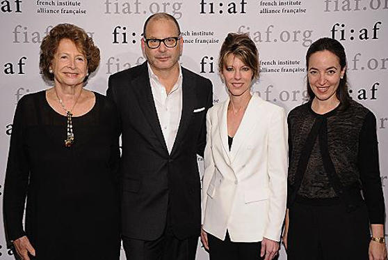"Slide 1 of 3: NEW YORK, NY - MARCH 21: Marie-Monique Steckel, designer Reed Krakoff, Roberta Myers and Pamela Golbin attend Fashion at FIAF 2012 Fashion Talks at Florence Gould Hall on March 21, 2012 in <a href=/tv/series/new-york.1/ type=""Msn.Entertain.Server.WebControls.LinkableTVSeries"" Arg=""1"" LinkType=""Page"">New York</a> City. (Photo by Dimitrios Kambouris/WireImage)"