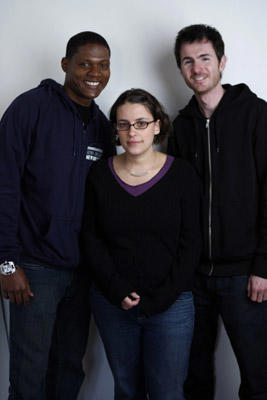 Slide 1 of 3: Algenis Perez Soto, Anna Boden and Ryan Fleck at the Sky 360 by Delta lounge WireImage portrait studio on January 22, 2008 in Park City, Utah.