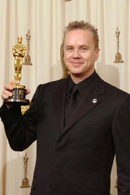 "Slide 1 of 234: Tim Robbins, winner for Best Supporting Actor for ""Mystic River"""