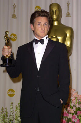 "Slide 1 of 211: Sean Penn, winner of Best Actor for ""Mystic River"""