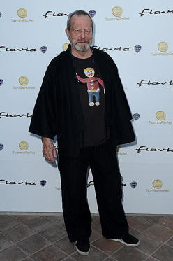 Slide 1 of 2: TAORMINA, ITALY - JUNE 24: Terry Gilliam attends at the Lancia Cafe during the 58th Taormina Film Fest on June 24, 2012 in Taormina, Italy. (Photo by Tullio M. Puglia/WireImage for Lancia)