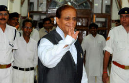 Azam Khan returns cow he got as gift