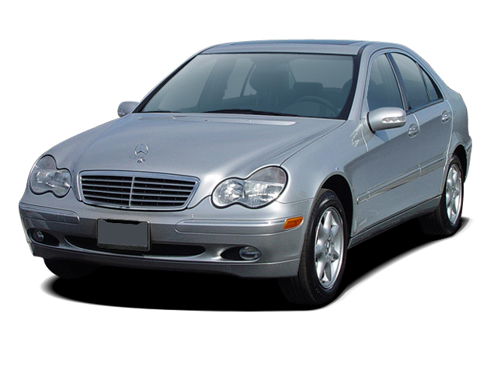 Slide 1 of 11: en-US 2003 Mercedes C-Class