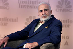 Carl Icahn, Chairman, Icahn Enterprises at a conference in New York.