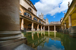 While the 117km-long (73 miles) Hadrian's Wall is England's biggest Roman landmark, the baths in the Somerset spa town of Bath are a more relaxing way to soak up the culture.