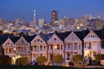 Painted Ladies in San Francisco.