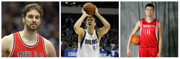 Dallas Mavericks's German power forward Dirk Nowitzki became the NBA's highest-scoring imternational player on November 11, after helping his team overcome the Sacramento Kings.  The 17-year NBA veteran, ninth on the overall scoring list, scored 23 points to move past Nigeria-born Hakeem Olajuwon and stake his claim as the best foreign-born player in NBA history. But where does he rank against the rest? We take a closer look.