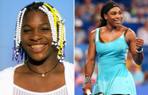 Serena Williams: 1998 and 2015