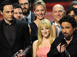 Elenco de The Big Bang Theory en los People's Choice Awards