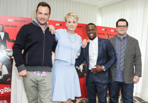 The Jeremy Garelick-directed film The Wedding Ringer is about to release soon. Click through to take a look back at some of the most popular wedding movies of all times.  (Pictured) From L to R: Jeremy Garelick, Kaley Cuoco-Sweeting, Kevin Hart and Josh Gad at the photo call for The Wedding Ringer in Los Angeles on January 6, 2015.