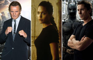 Movies' tough guys and iron ladies
