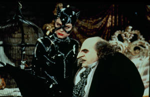 As the egg-shaped, bile-spewing madman, DeVito excelled as Batman-nemesis The Penguin in Tim Burton's Batman Returns.