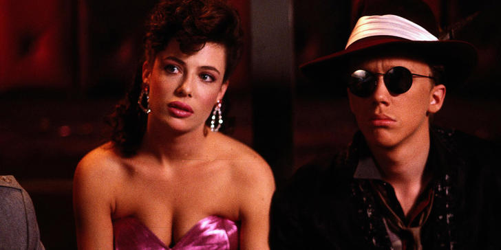 Kelly LeBrock and Anthony Michael Hall