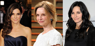 As actress Calista Flockhart celebrates her 50th birthday she joins Sandra Bullock, Michelle Obama and Courtney Cox at the half-century milestone. Join us as we look at other inspirational and famous female faces who have also turned 50 this year.