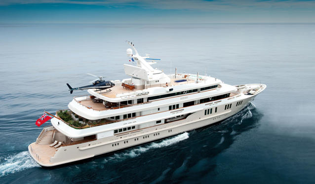 Slide 1 of 11: Top 10 yachts for 2015