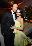 Channing Tatum and Jenna Dewan-Tatum attend The Weinstein Company & Netflix's Go...