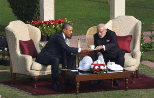 File: Barack Obama: BJP's special weapon for Delhi polls
