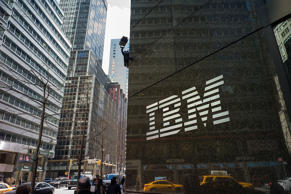 NEW YORK, NY - MARCH 11: A general view of the IBM The International Business Machines Corporation offices on Madison Avenue on March 11, 2014 in New York City. (Photo by Ben Hider/Getty Images)