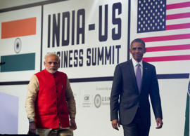 Modi pledges open business environment, Obama raises IPR issue