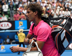 Tomas Berdych finally put an end to his losing streak against Rafael Nadal as the Czech served up a straight-set thrashing in the Australian Open quarter-finals
