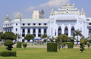 City Hall in Yangon, Myanmar.