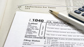 Tax form. imacon/Getty Images