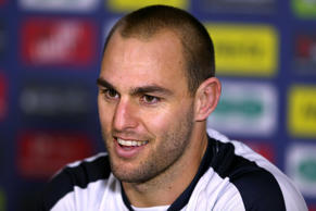 Simon Mannering led the Kiwis to the Four Nations title in October.