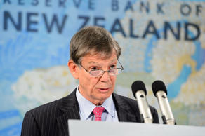 New Zealand Reserve Bank governor Graeme Wheeler