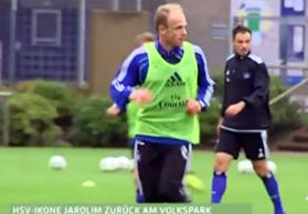 David Jarolim im HSV-Training.