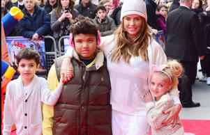 Junior Andre, Harvey Price, Katie Price and Princess Tiaamii