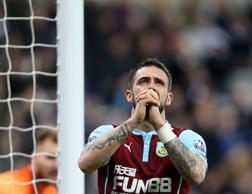 Burnley's Danny Ings during their English Premier League soccer match between Newcastle United and Burnley at St James' Park, Newcastle, England, Thursday, Jan. 1, 2015.