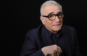 Film director Martin Scorsese poses for a portrait in Los Angeles.