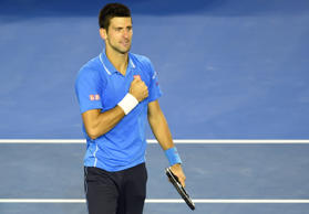 Djokovic beats Wawrinka, into fifth Open final
