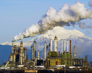 Tesoro Oil Refinery, Anacortes, Washington State.