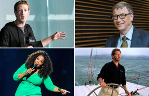 What is that make these individuals an inspiration? Is it their strong conviction, ability to take risks or self-efficacy? Here's a look at people who did not inherit their money or family businesses, but are self-made billionaires. Their current net worth is as of January 30, 2015.